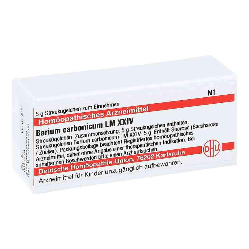 Lm Barium Carbonicum Xxiv Globuli  bei juvalis.de bestellen