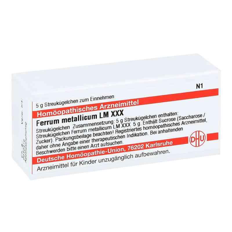 Lm Ferrum Metallicum Xxx Globuli  bei juvalis.de bestellen