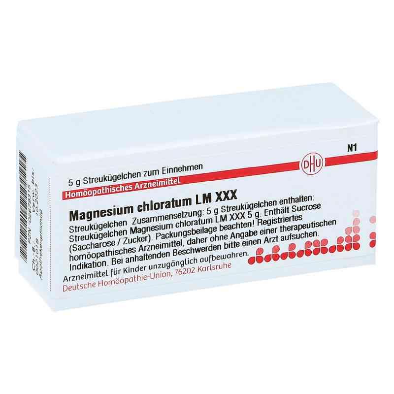 Lm Magnesium Chloratum Xxx Globuli  bei juvalis.de bestellen