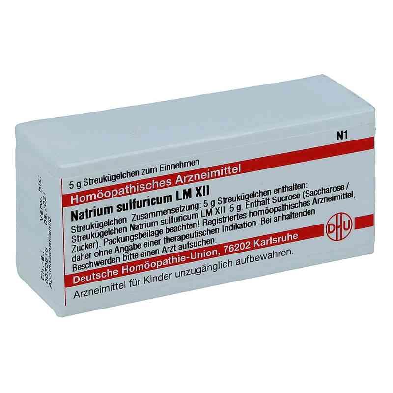 Lm Natrium Sulfuricum Xii Globuli  bei juvalis.de bestellen
