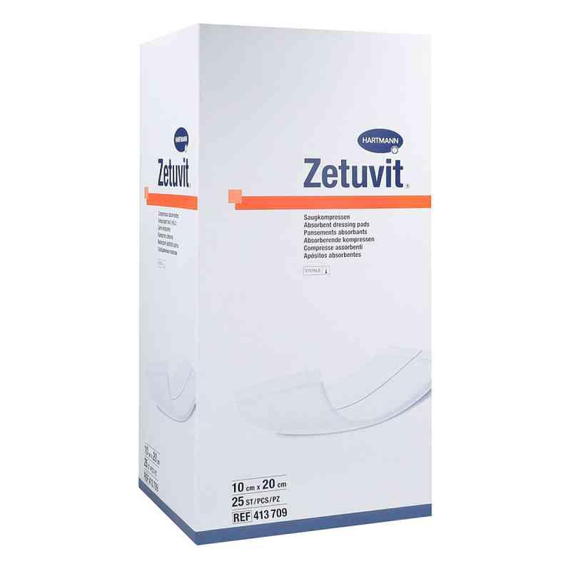 Zetuvit Saugkompresse steril 10x20 cm  bei juvalis.de bestellen