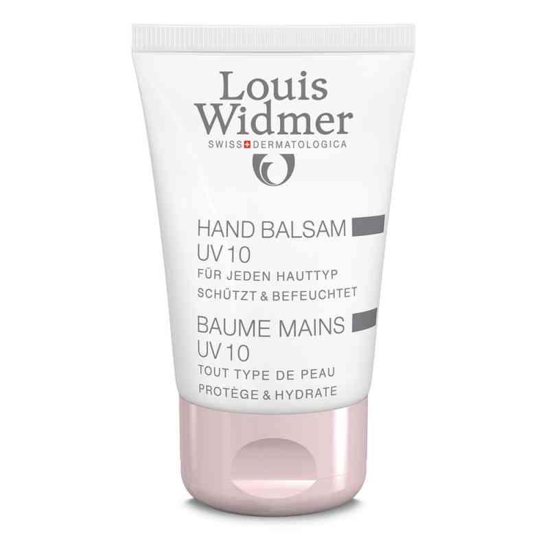 Widmer Hand Balsam Uv10 leicht parfümiert  bei juvalis.de bestellen