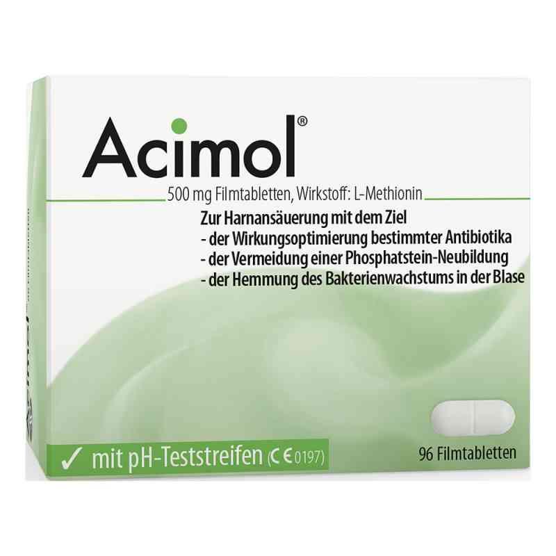 Acimol mit pH Teststreifen Filmtabletten  bei juvalis.de bestellen