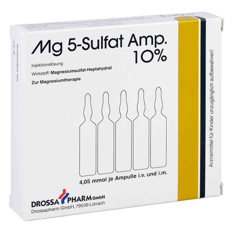 Mg 5 Sulfat Ampullen 10% Injektionslösung  bei juvalis.de bestellen