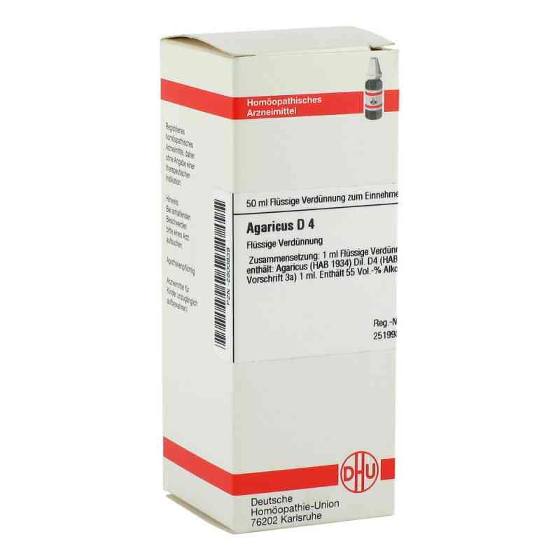 Agaricus D4 Dilution  bei juvalis.de bestellen