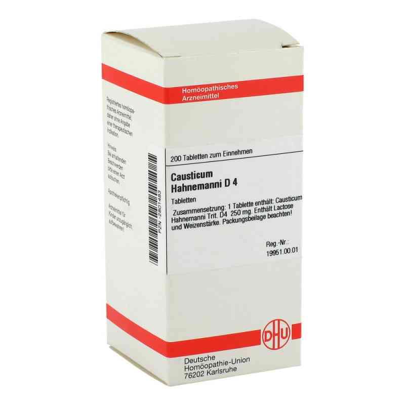 Causticum Hahnemanni D4 Tabletten  bei juvalis.de bestellen