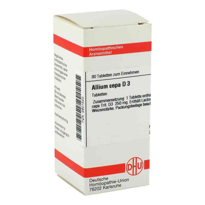 Allium Cepa D3 Tabletten  bei juvalis.de bestellen