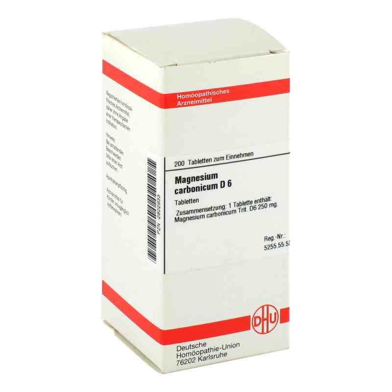 Magnesium Carbonicum D6 Tabletten  bei juvalis.de bestellen