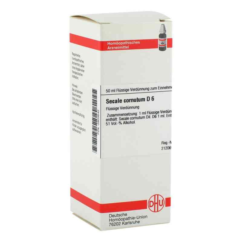 Secale Cornutum D6 Dilution  bei juvalis.de bestellen