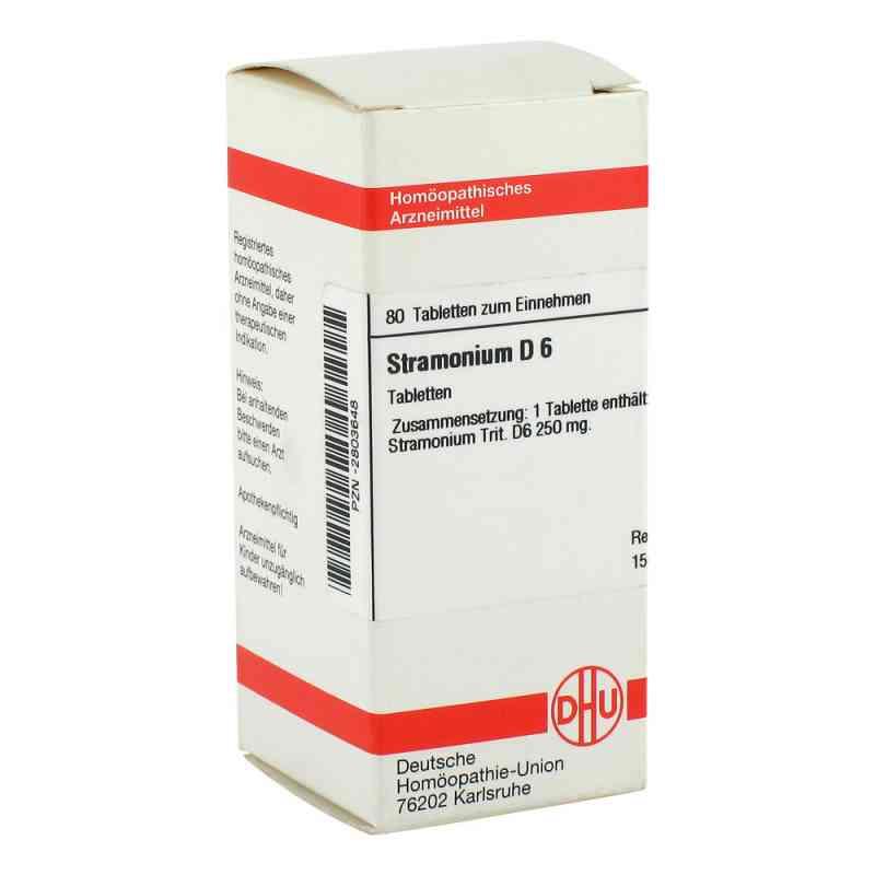 Stramonium D6 Tabletten  bei juvalis.de bestellen