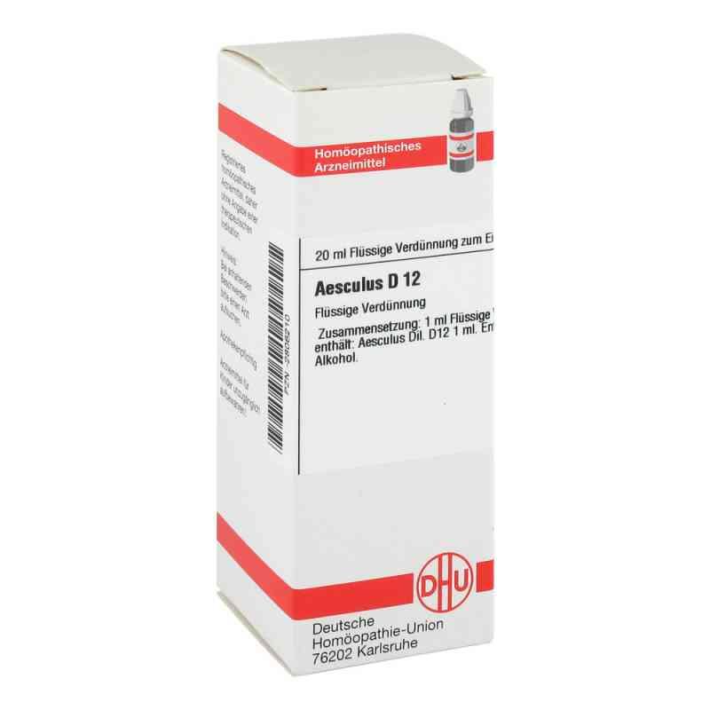 Aesculus D12 Dilution  bei juvalis.de bestellen