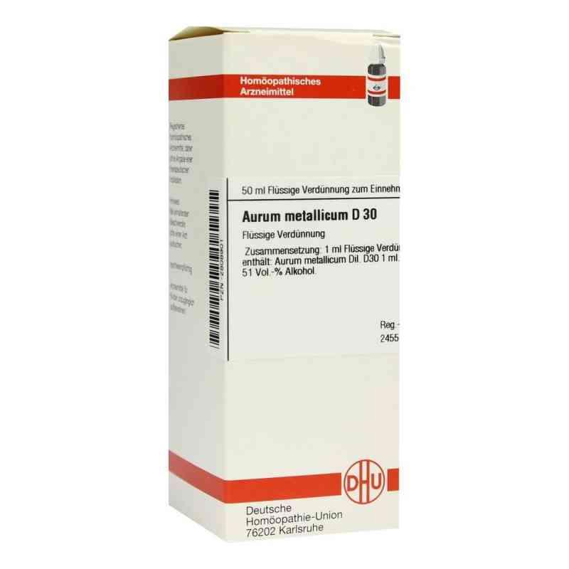 Aurum Metallicum D30 Dilution  bei juvalis.de bestellen