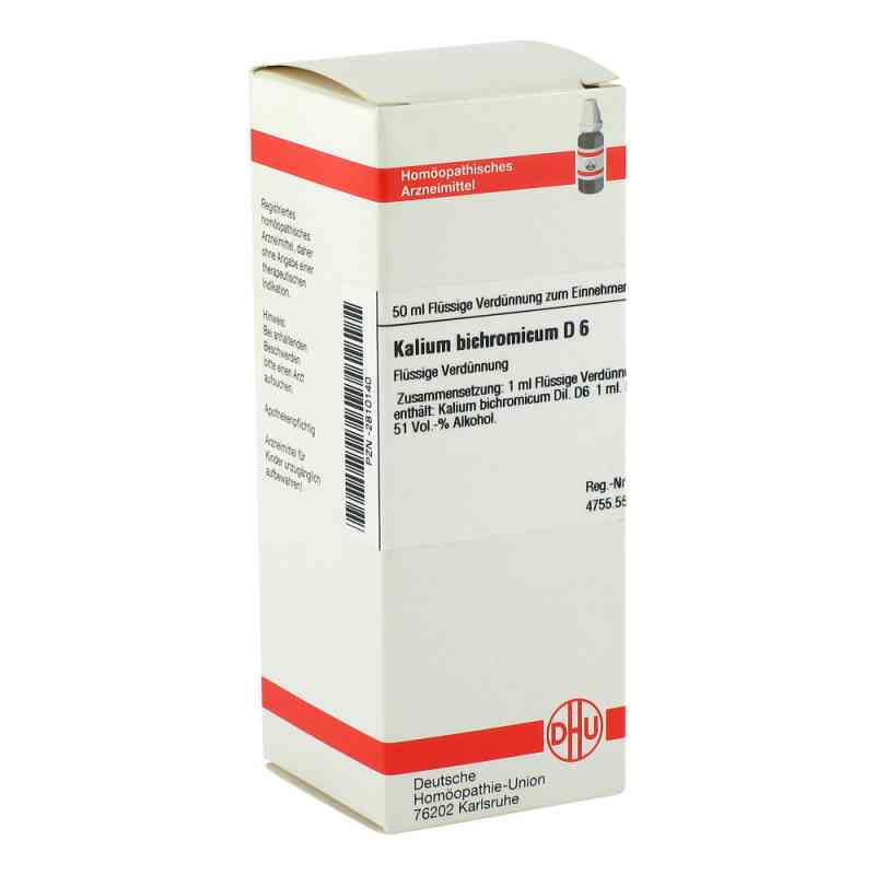 Kalium Bichromicum D6 Dilution  bei juvalis.de bestellen
