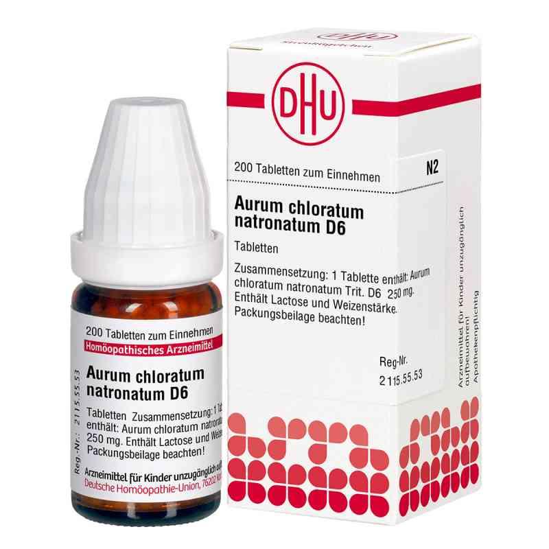 Aurum Chloratum Natronatum D6 Tabletten  bei juvalis.de bestellen