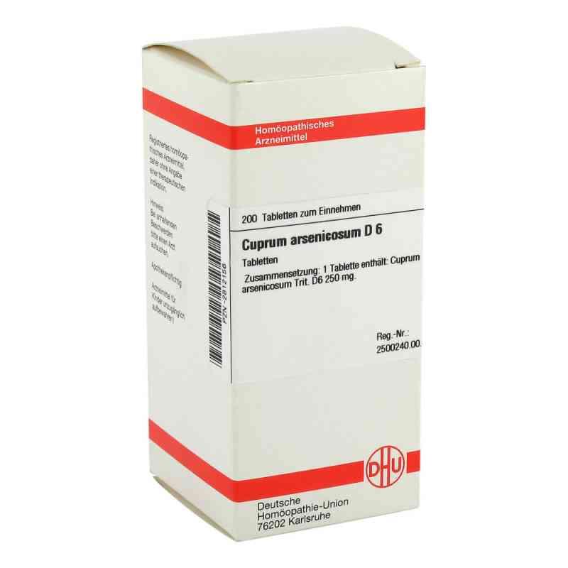 Cuprum Arsenicosum D6 Tabletten  bei juvalis.de bestellen