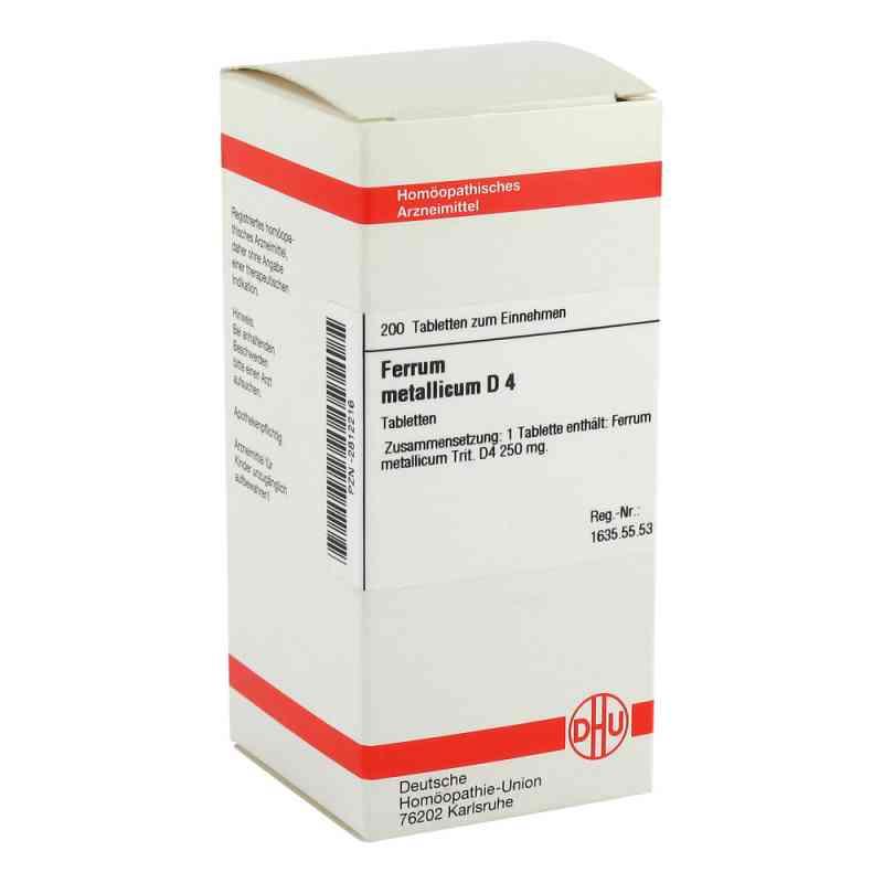 Ferrum Metallicum D4 Tabletten  bei juvalis.de bestellen