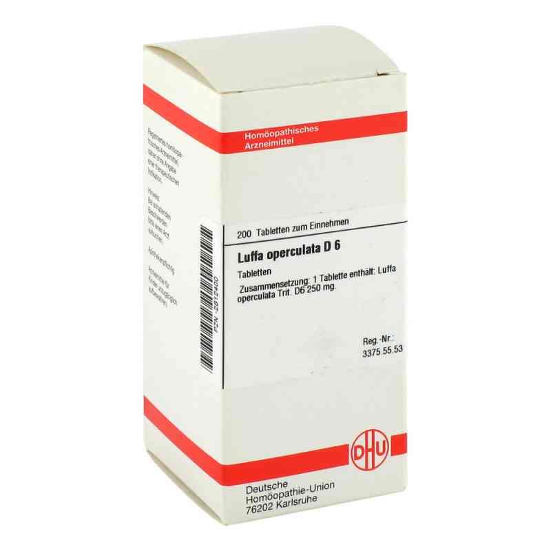 Luffa Operculata D6 Tabletten  bei juvalis.de bestellen