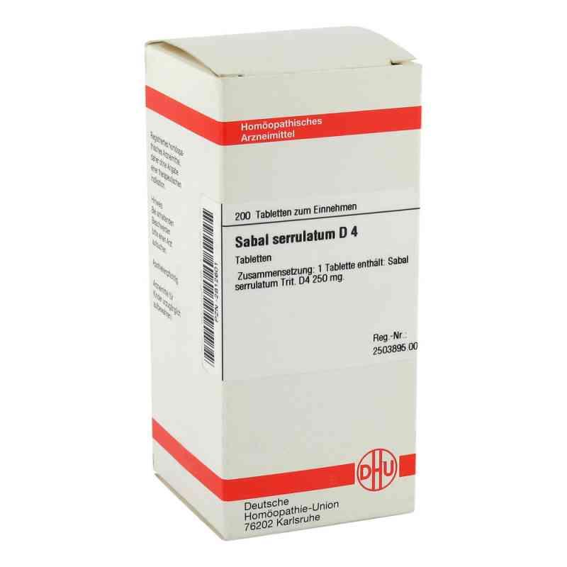Sabal Serrul. D4 Tabletten  bei juvalis.de bestellen