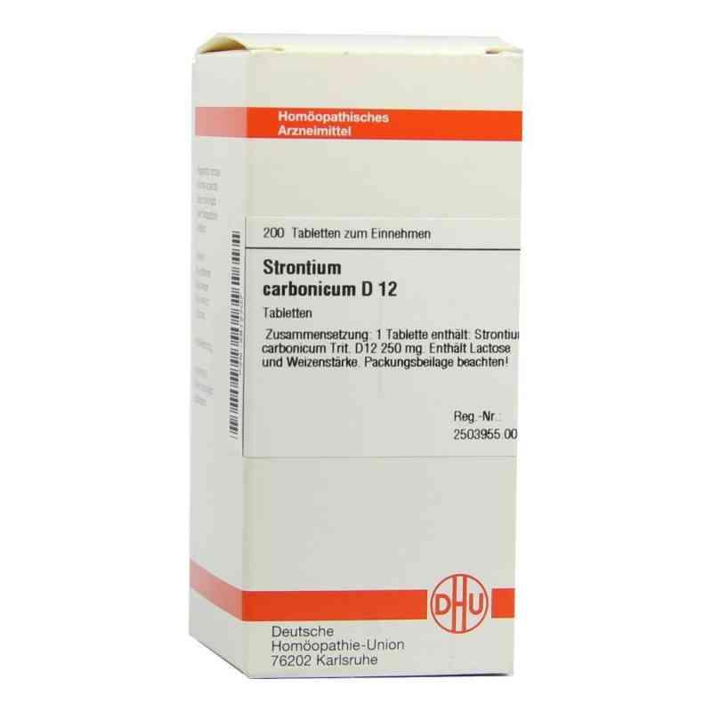 Strontium Carbonicum D12 Tabletten  bei juvalis.de bestellen