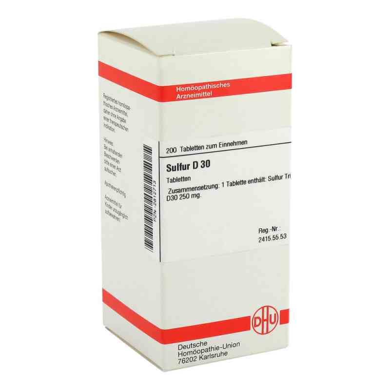 Sulfur D30 Tabletten  bei juvalis.de bestellen