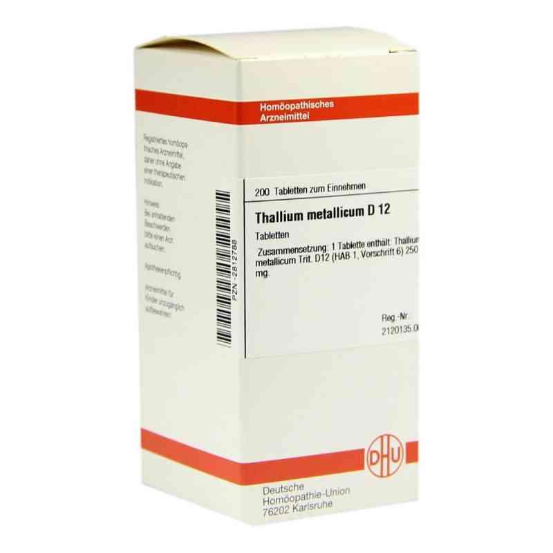 Thallium Met. D12 Tabletten  bei juvalis.de bestellen