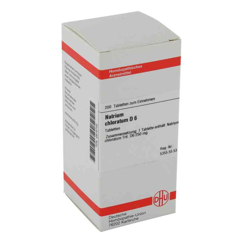 Natrium Chloratum D6 Tabletten  bei juvalis.de bestellen