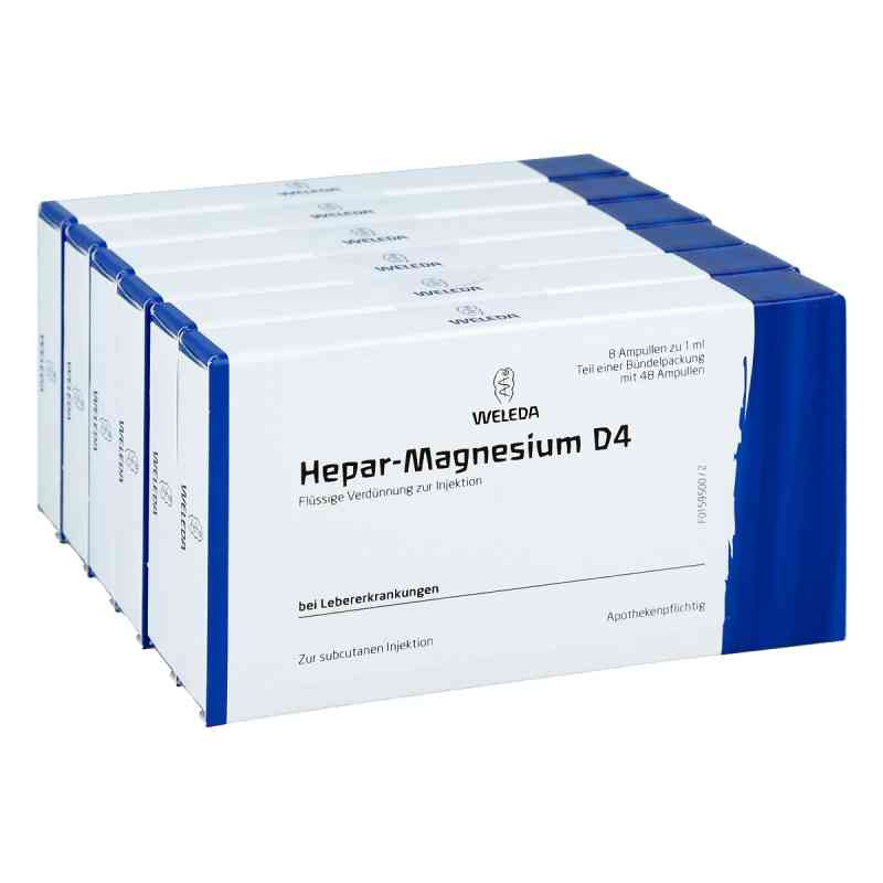 Hepar-magnesium D4 Ampullen  bei juvalis.de bestellen