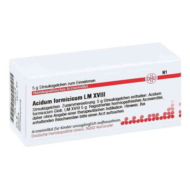 Lm Acidum Formicicum Xviii Globuli  bei juvalis.de bestellen