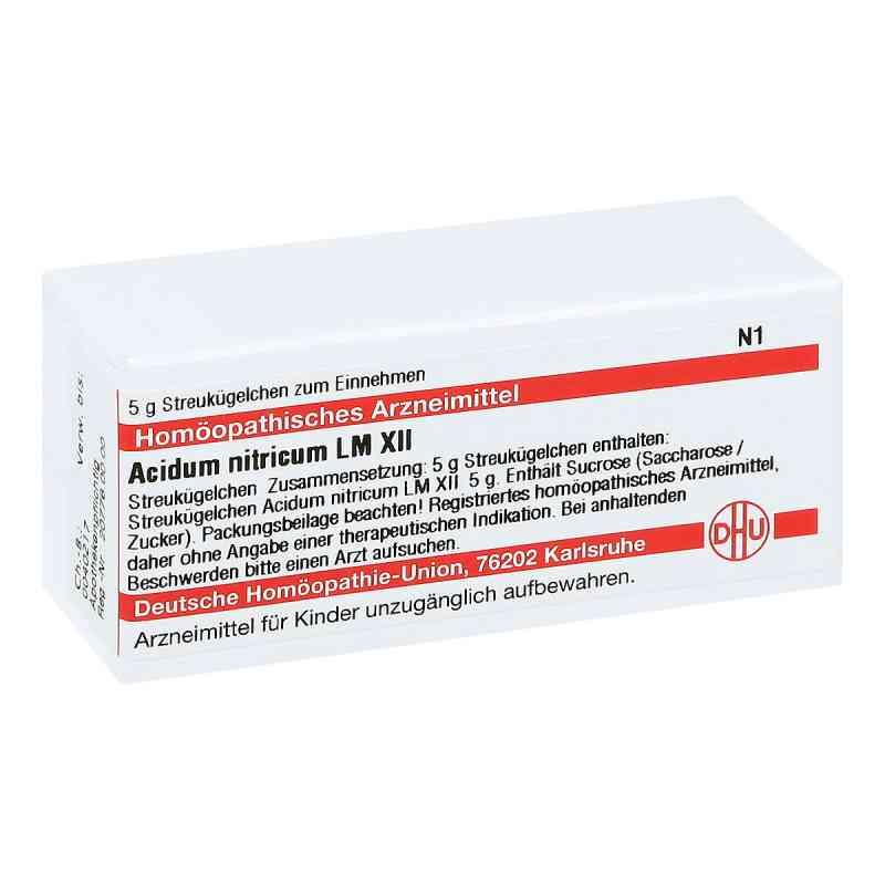 Lm Acidum Nitricum Xii Globuli  bei juvalis.de bestellen