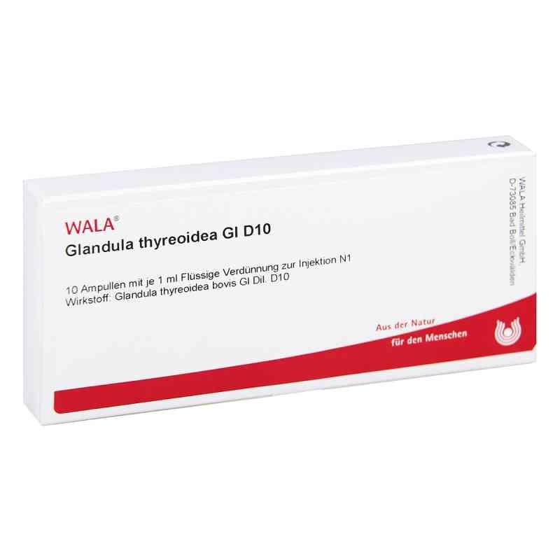 Glandula Thyreoidea Gl D10 Ampullen  bei juvalis.de bestellen