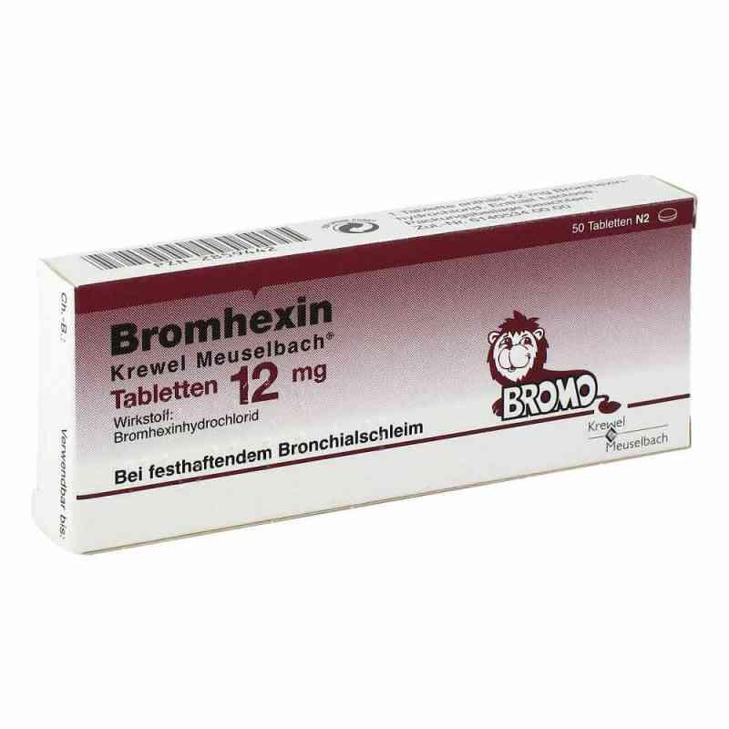 Bromhexin Krewel Meuselbach 12mg  bei juvalis.de bestellen