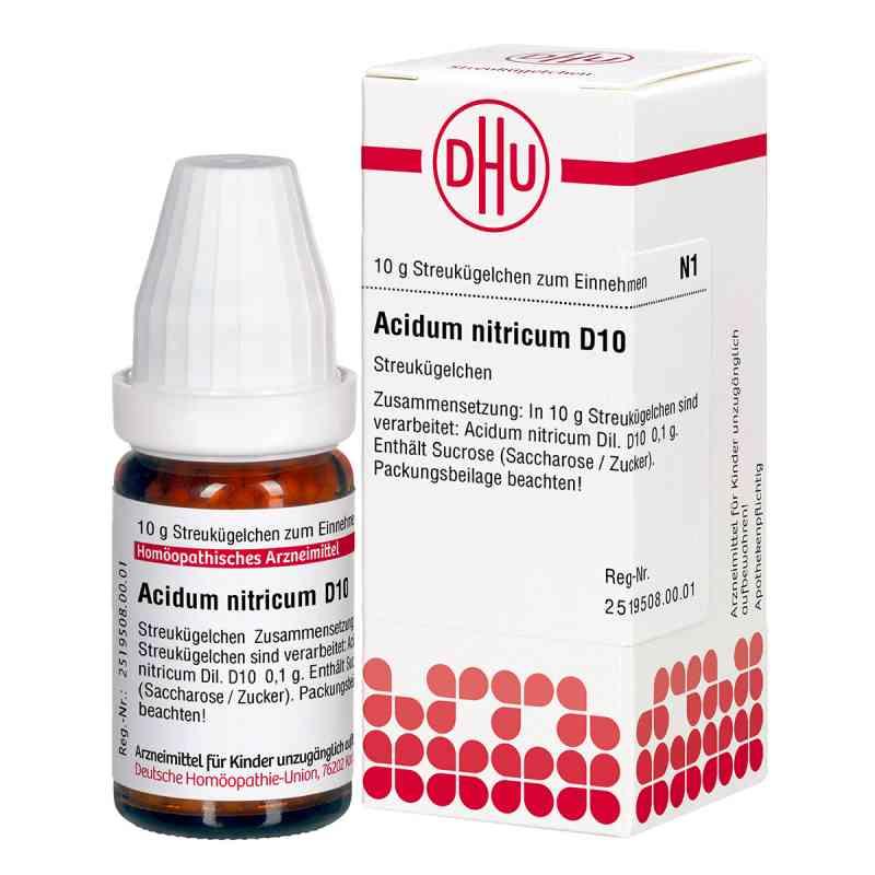 Acidum Nitricum D 10 Globuli  bei juvalis.de bestellen