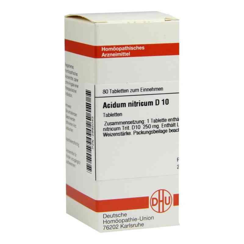 Acidum Nitricum D10 Tabletten  bei juvalis.de bestellen