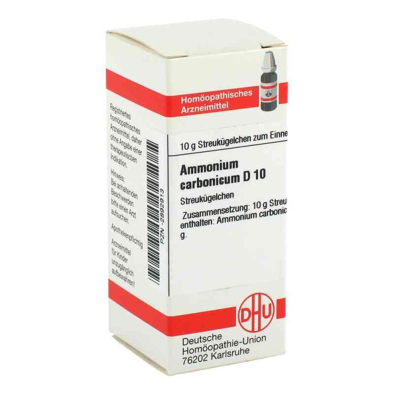 Ammonium Carbonicum D10 Globuli  bei juvalis.de bestellen