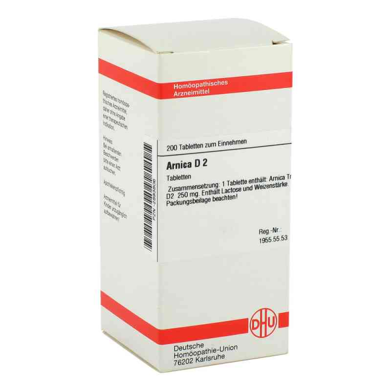 Arnica D2 Tabletten  bei juvalis.de bestellen