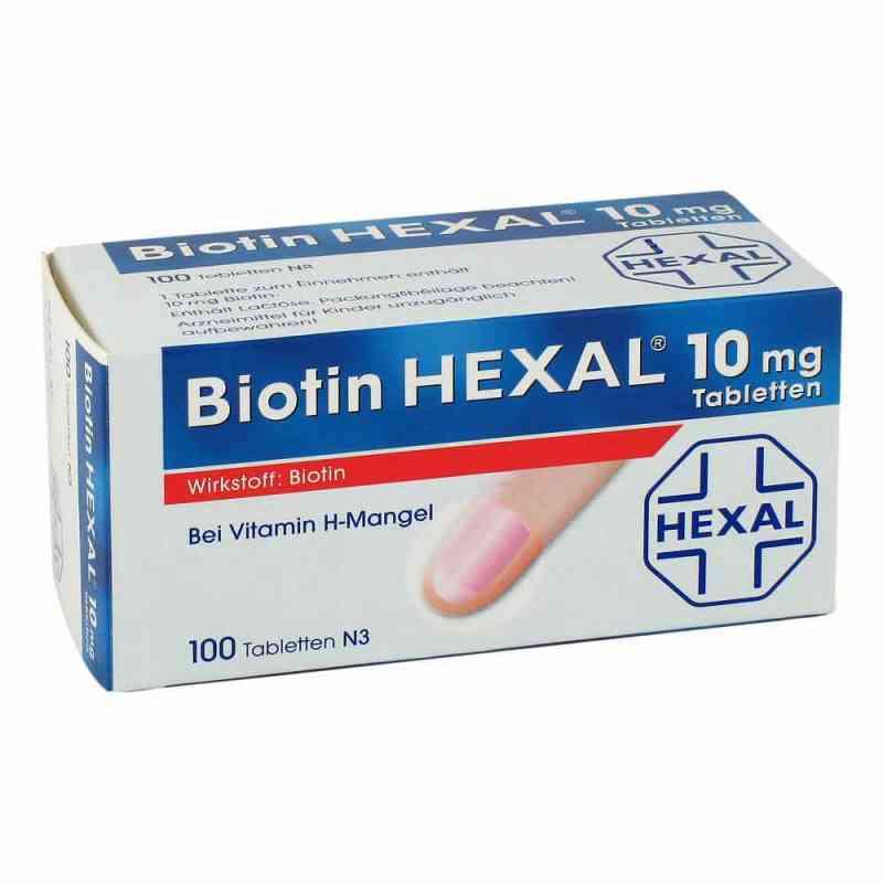 Biotin Hexal 10 mg Tabletten  bei juvalis.de bestellen