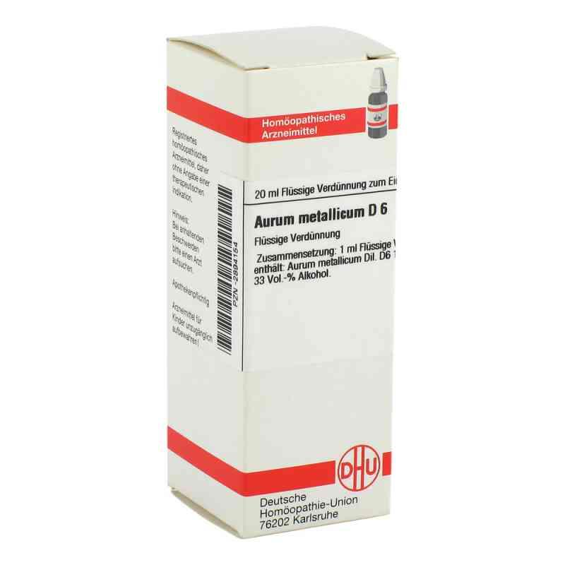 Aurum Metallicum D6 Dilution  bei juvalis.de bestellen