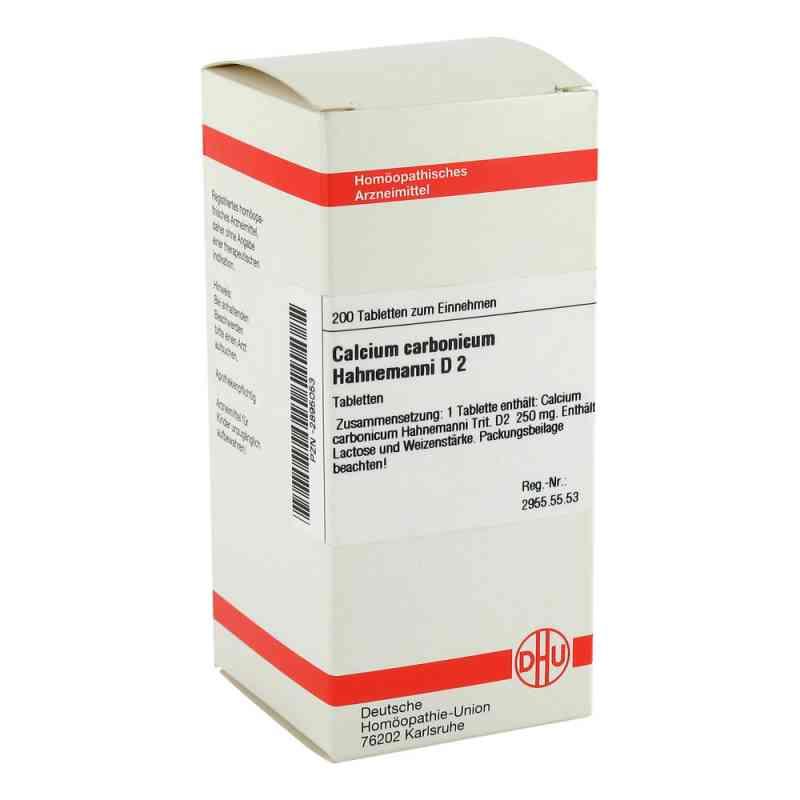 Calcium Carbonicum D 2 Tabletten Hahnemanni  bei juvalis.de bestellen