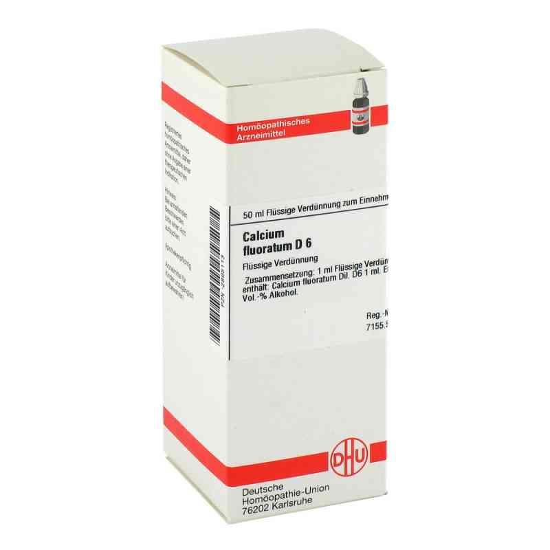 Calcium Fluoratum D6 Dilution  bei juvalis.de bestellen