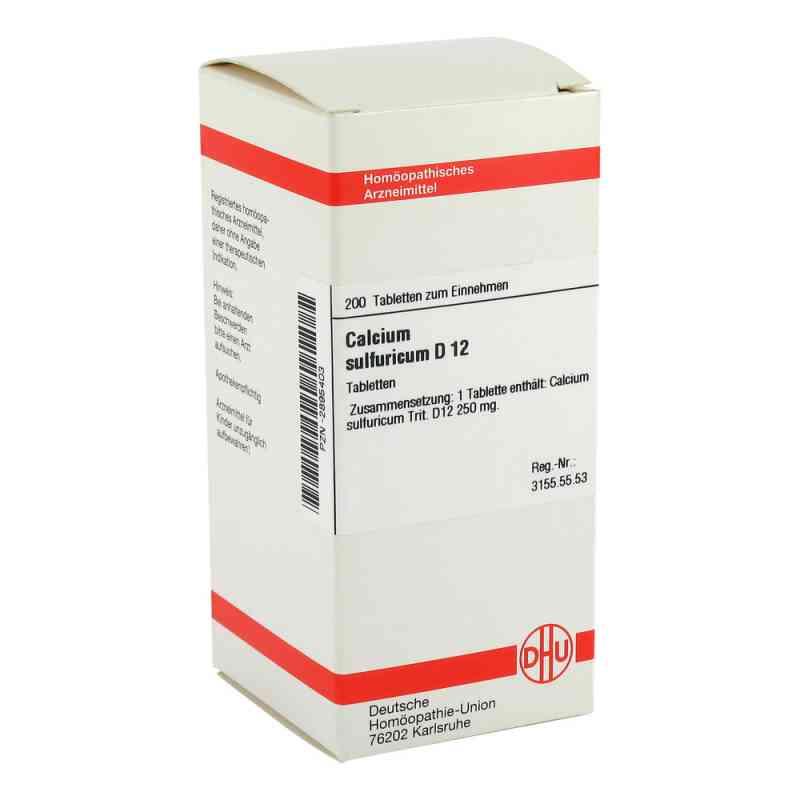 Calcium Sulfuricum D12 Tabletten  bei juvalis.de bestellen