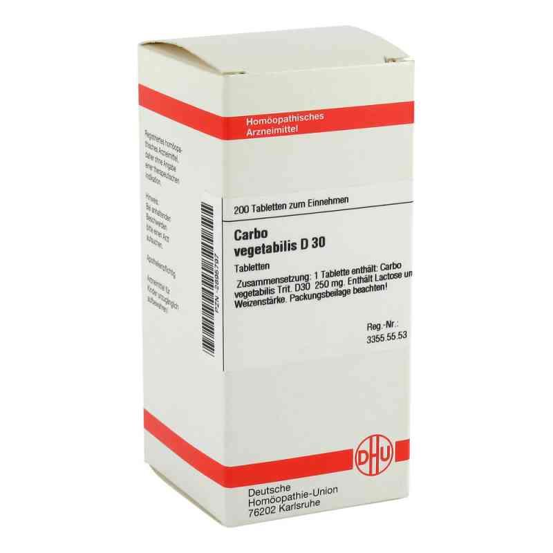 Carbo Vegetabilis D30 Tabletten  bei juvalis.de bestellen