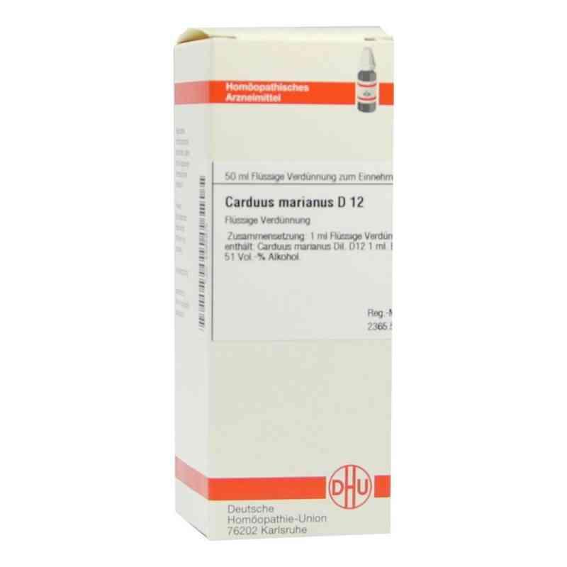 Carduus Marianus D12 Dilution  bei juvalis.de bestellen