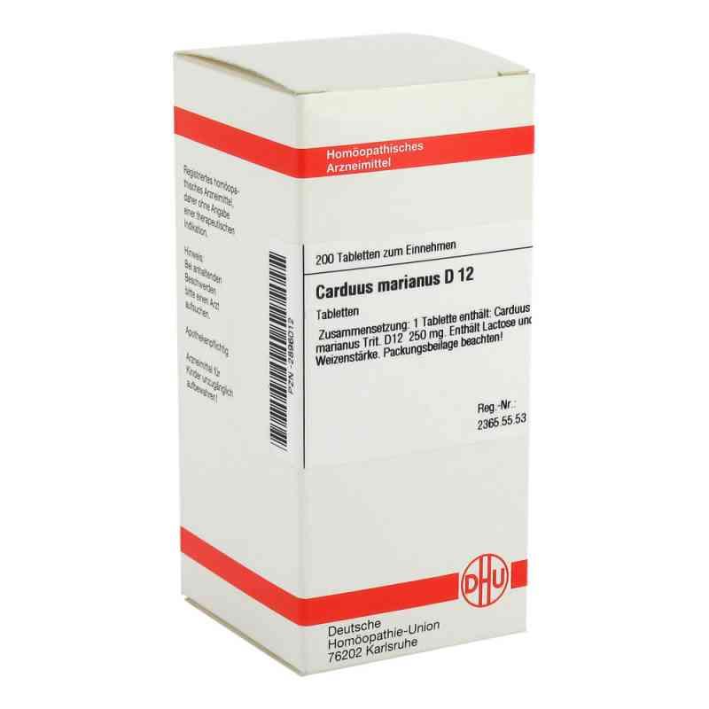 Carduus Marianus D12 Tabletten  bei juvalis.de bestellen