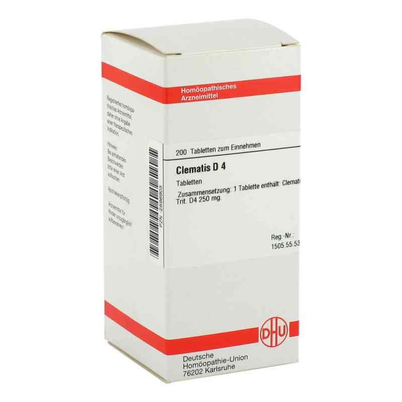 Clematis D4 Tabletten  bei juvalis.de bestellen