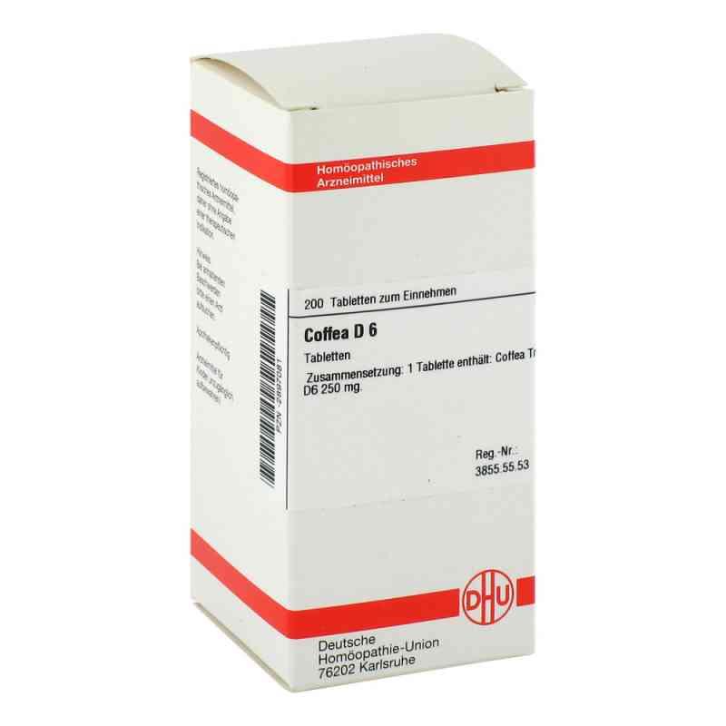 Coffea D6 Tabletten  bei juvalis.de bestellen