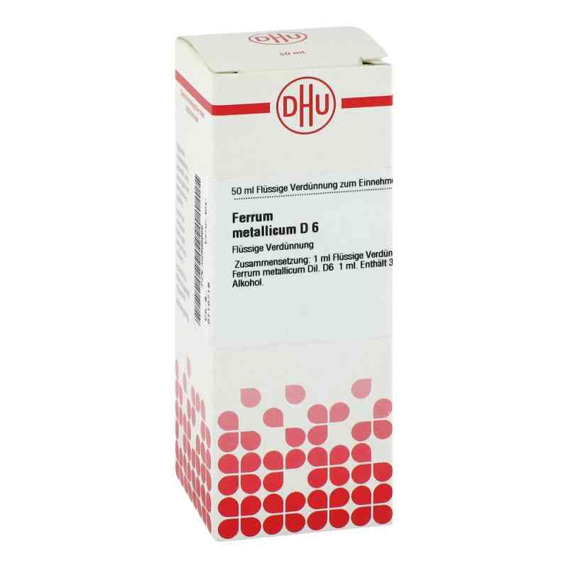 Ferrum Metallicum D6 Dilution  bei juvalis.de bestellen