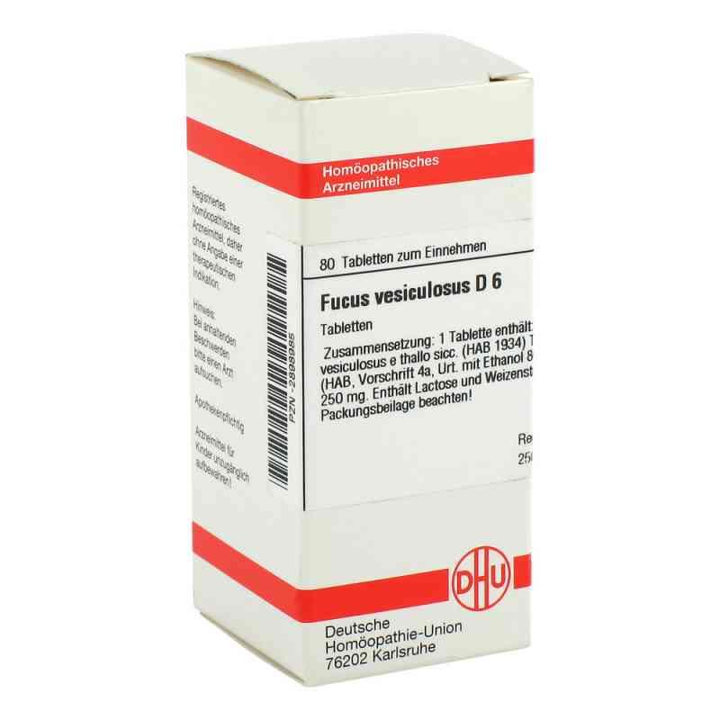 Fucus Vesiculosus D6 Tabletten  bei juvalis.de bestellen