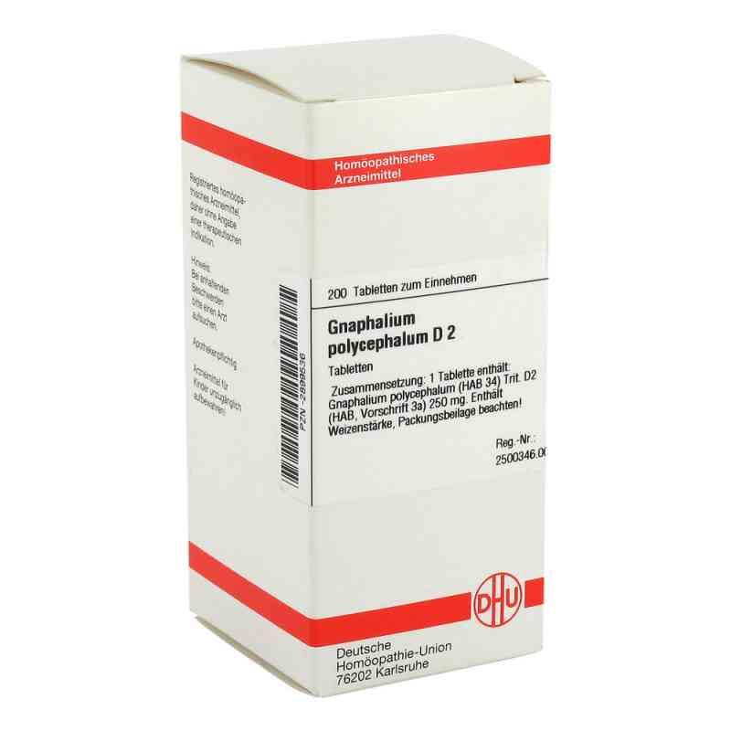 Gnaphalium Polyceph. D2 Tabletten  bei juvalis.de bestellen