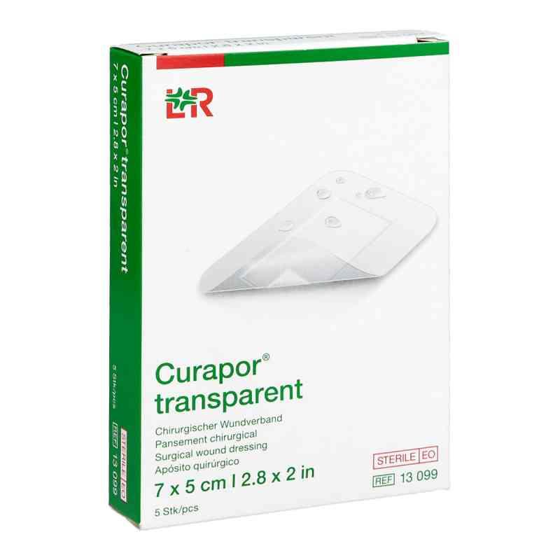 Curapor Wundverband transparent 5x7 cm steril  bei juvalis.de bestellen