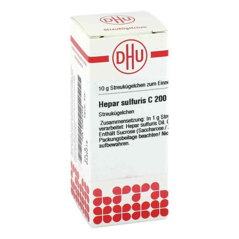 Hepar Sulfuris C200 Globuli  bei juvalis.de bestellen